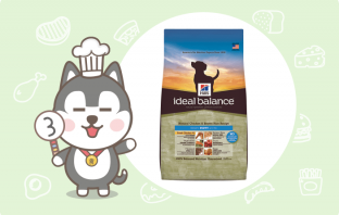 Hill's Ideal balance天然配方幼犬封面
