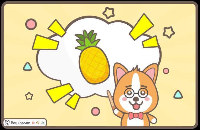 狗狗可以吃鳳梨