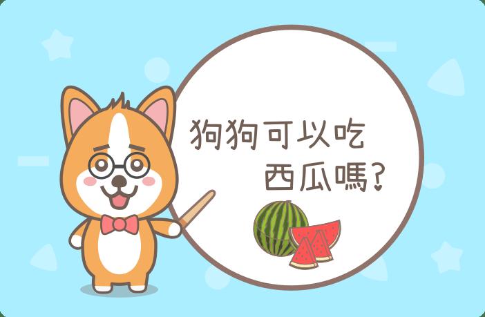 狗狗可以吃西瓜嗎