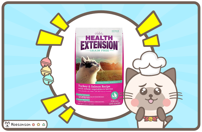 Health Extension 貓飼料評價