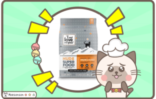 I and Love and you NUDE FOOD 貓飼料評價