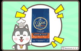 Wellness CORE RawRev Wholesome Grains Original + 100% Raw Turkey